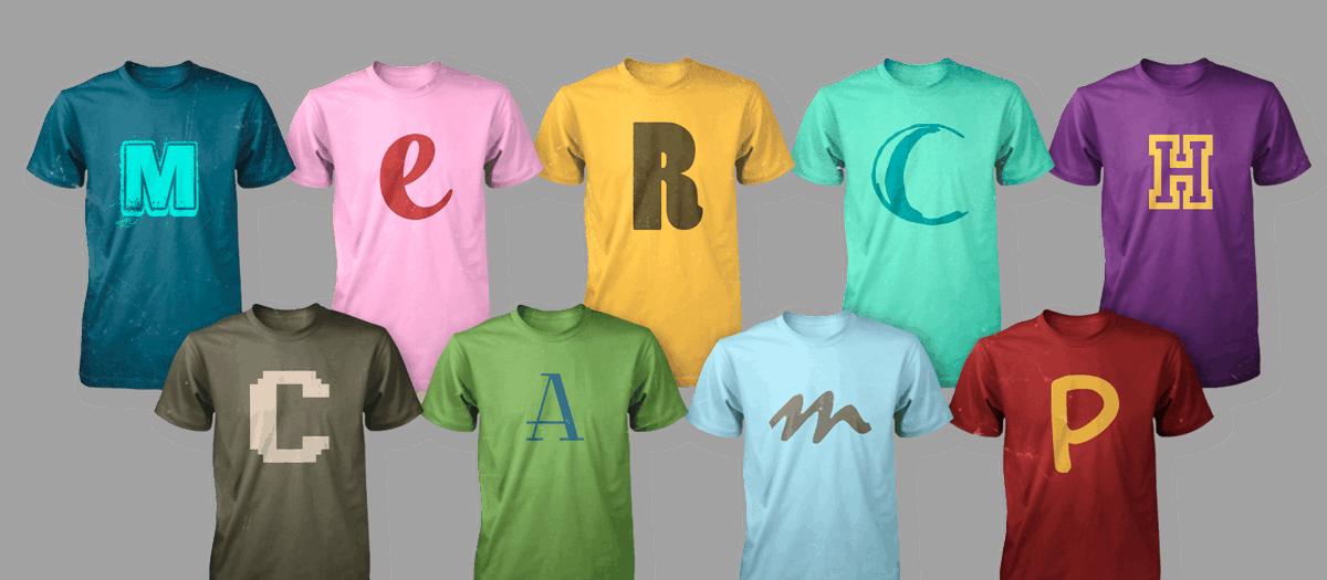 MerchCamp Shirt Mockup